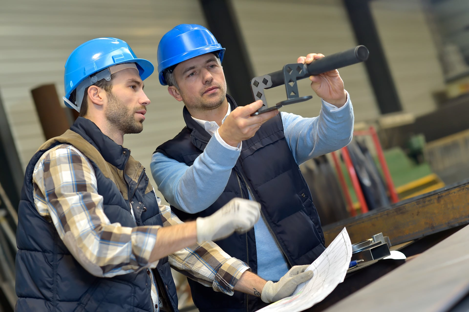 Kontrol i stålproduktion